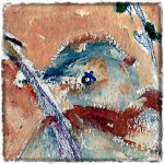 Bird in a Wire Thumbnail bird's eye © twyatt 2015