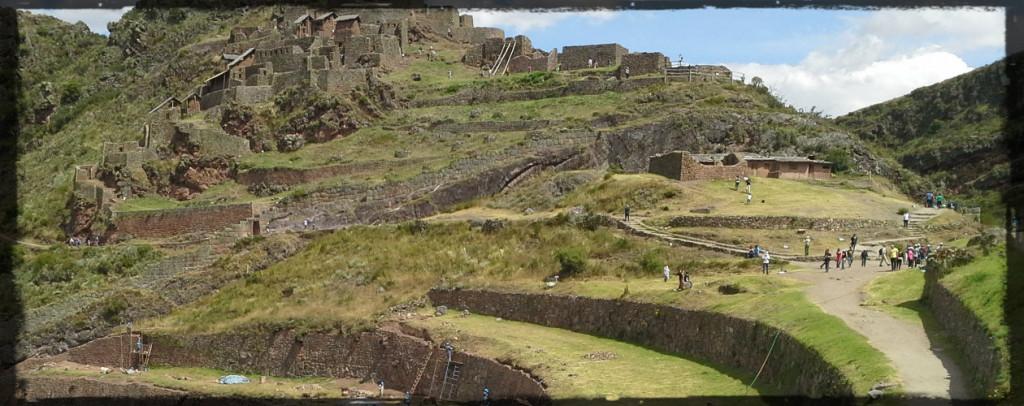 Pisac Ruins Peru © Twyatt 2014