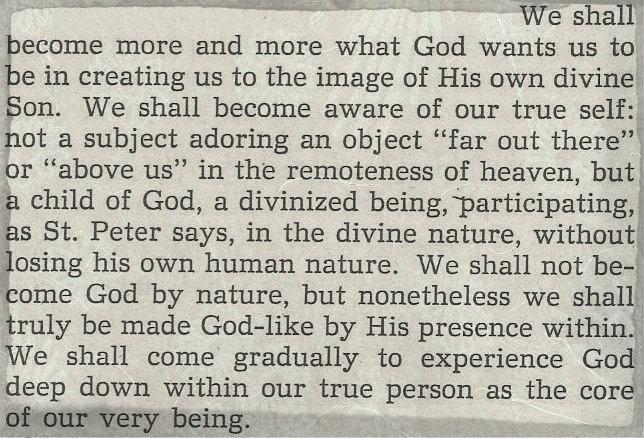 The Jesus Prayer, George A. Maloney, S.J., Dove Publications, 1974
